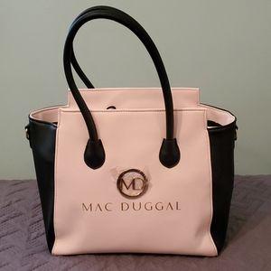 Mac Duggal Pink and Black Bag!